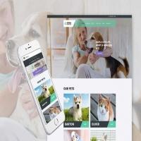 Animal Shelter Joomla web site